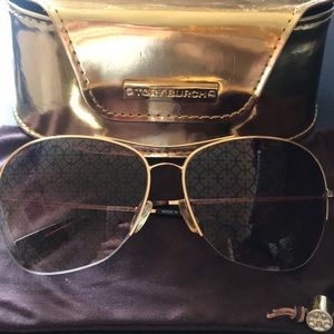 Tory Burch monogram sunglasses